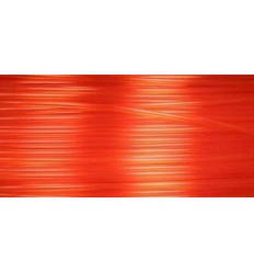 Filament 3D PLA Translucide  Orange 1.75mm par 10 mètres