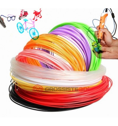 PACK 7 X 5 M RECHARGE STYLO 3D PLA 3.00 MM