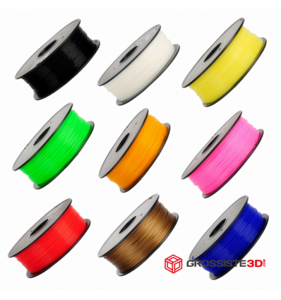 Pack 9 bobines ABS 1.75mm