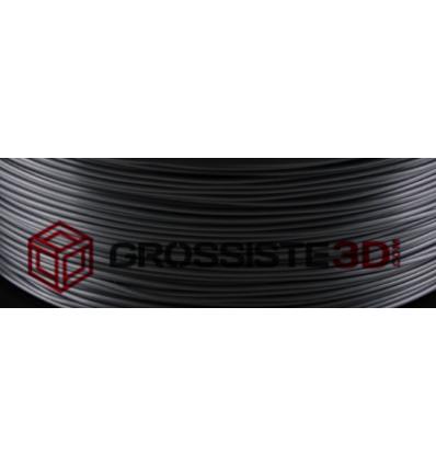 Filament 3D Soie (Silk) Gris Noir Dark 1.75 mm par 10 mètre