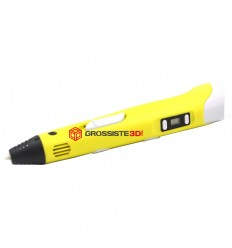 STYLO 3D LCD CRAYON D'IMPRESSION Jaune