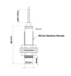 Détecteur Capteur Inductif 12mm