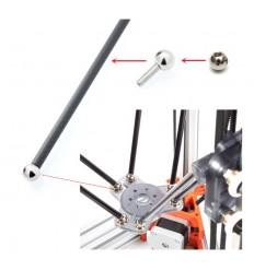 Bille Acier 10mm M4 Rotule Joints Magnétique 3D Imprimante 3D