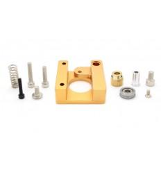 Bloc De Trame MK8 makerbot Reprap i3 extrudeuse bloc d'aluminium makerbot tête d'extrusion main droite courte.