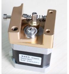 Bloc De Trame MK8 makerbot Reprap i3 extrudeuse bloc d'aluminium makerbot tête d'extrusion main droite.