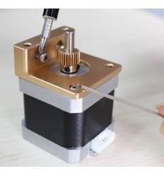 Bloc De Trame MK8 makerbot Reprap i3 extrudeuse bloc d'aluminium makerbot tête d'extrusion main gauche.