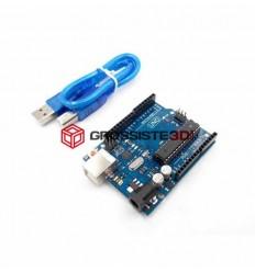 Carte UNO R3 ATmega328P ATMEGA16U2 avec Câble USB Compatible Arduino