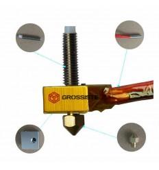 Kit MK8 Extrudeuse Extrémité Chaude Imprimante 3D 1.75mm Buse 0.4mm