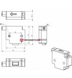Détecteur Fin de filament 1.75mm