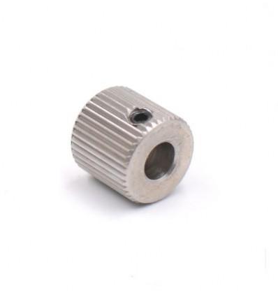 Engrenage extrudeur entrainement Mk7 / Mk8 40 dents  5mm