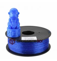 Filament 3D paillette Bleu PLA 3mm