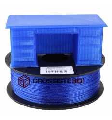 Filament 3D paillette Bleu PLA 3mm