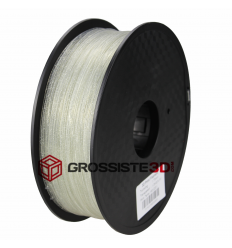 Filament 3D paillette transparent PLA 3mm