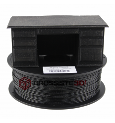 Filament 3D paillette Noir diamant PLA 3.00 mm