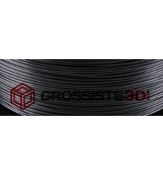 Filament 3D Soie (Silk) Gris Noir Dark 3.00mm par 10 mètre