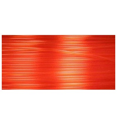 Filament 3D PLA Translucide  Orange 3.00mm par 10 mètres
