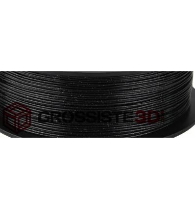 Filament 3D paillette Noir PLA 1.75 mm au mètre