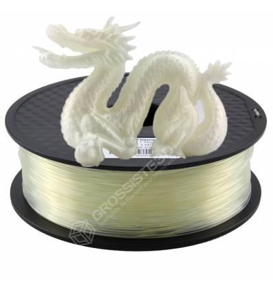 Fil 3D PLA 2 Kg 1.75 mm Transparent
