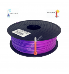 Filament 3D PLA Thermosensible Bleu - Violet 1.75mm