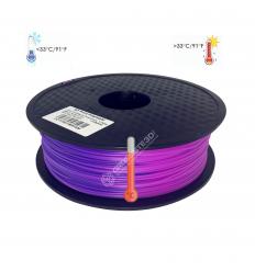 Filament 3D PLA Thermosensible Bleu - Violet 1.75mm