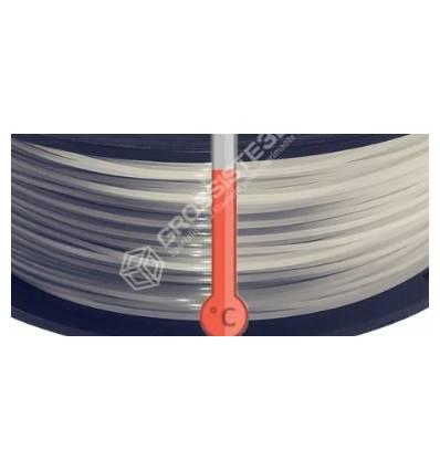 Filament 3D PLA Thermosensible Gris - Blanc 1.75 mm par 10 mètres