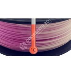 Filament 3D PLA Thermosensible Rose - Blanc 1.75 mm par 10 mètres