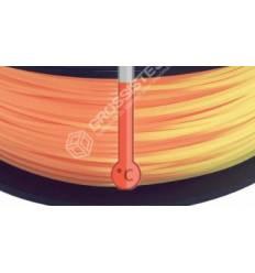 Filament 3D PLA Thermosensible Orange - Jaune 1.75 mm par 10 mètres