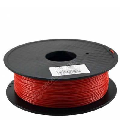 Filament 3D Rouge Flexible 3.00 mm
