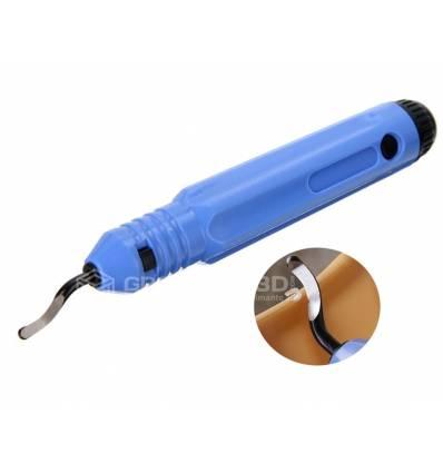 Outil d'ébavurage avec lame acier 147 mm