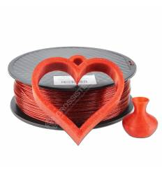 Filament 3D paillette 500g Rouge Scalet PLA 1.75 mm