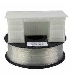 Filament 3D paillette 500g Transparent PLA 1.75 mm