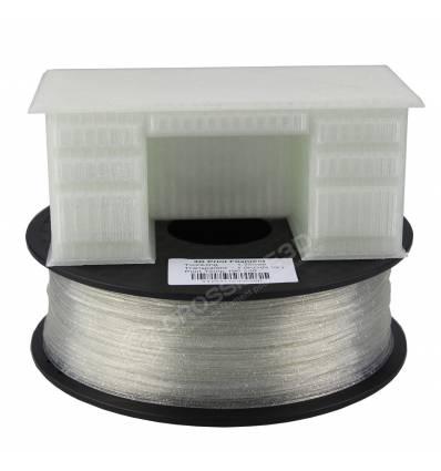 Filament 3D paillette 500g Transparent PLA 1.75 mm
