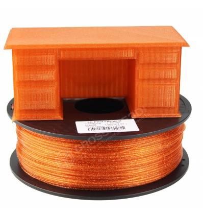 Filament 3D paillette 500g Rouge Or PLA 1.75 mm