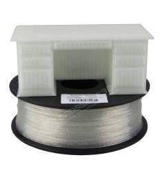 Filament 3D paillette transparent PLA 1.75 mm