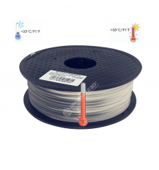 Filament 3D PLA Thermosensible 500g Gris -Blanc 1.75mm