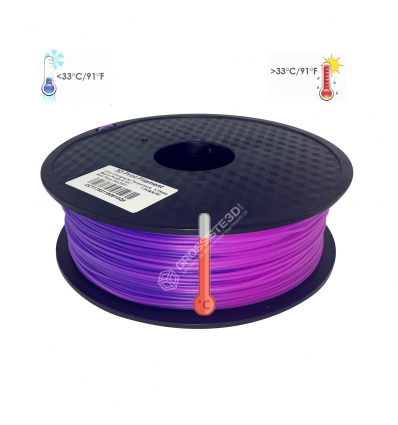 Filament 3D PLA Thermosensible 500g Bleu - Violet 1.75mm