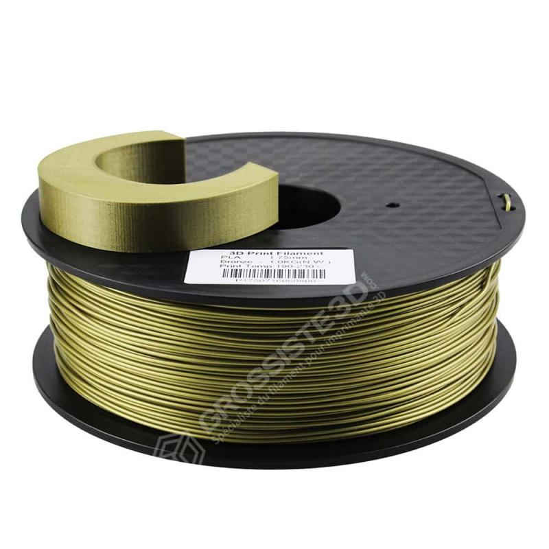 Fil 3D PLA 2 Kg 1.75 mm Bronze