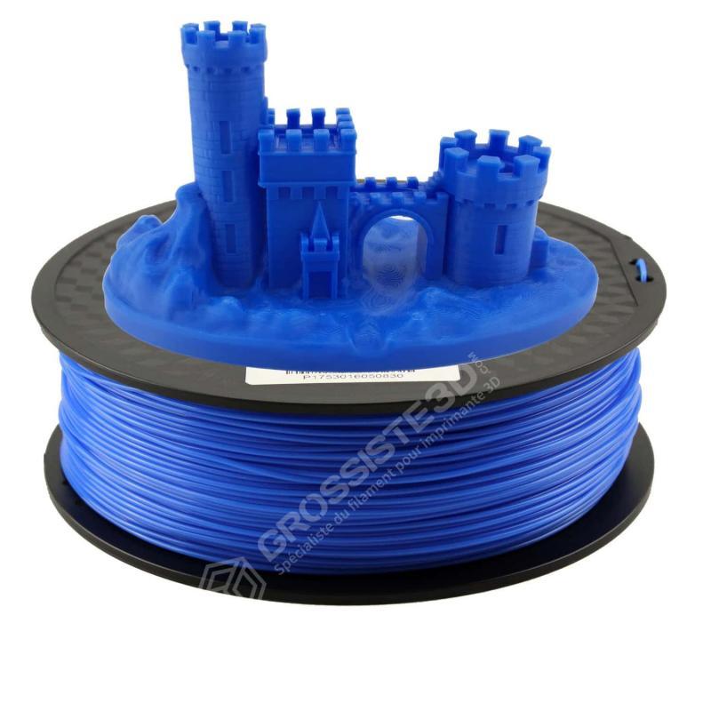 Fil 3D PLA 2 Kg 1.75 mm Bleu ciel