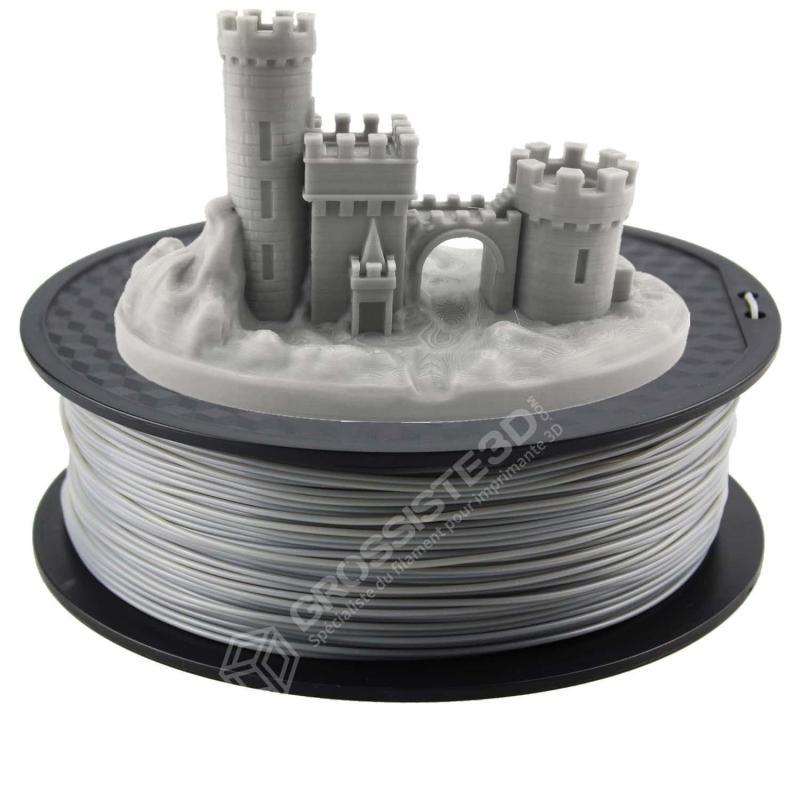 Fil 3D PLA 2 Kg 1.75 mm Gris