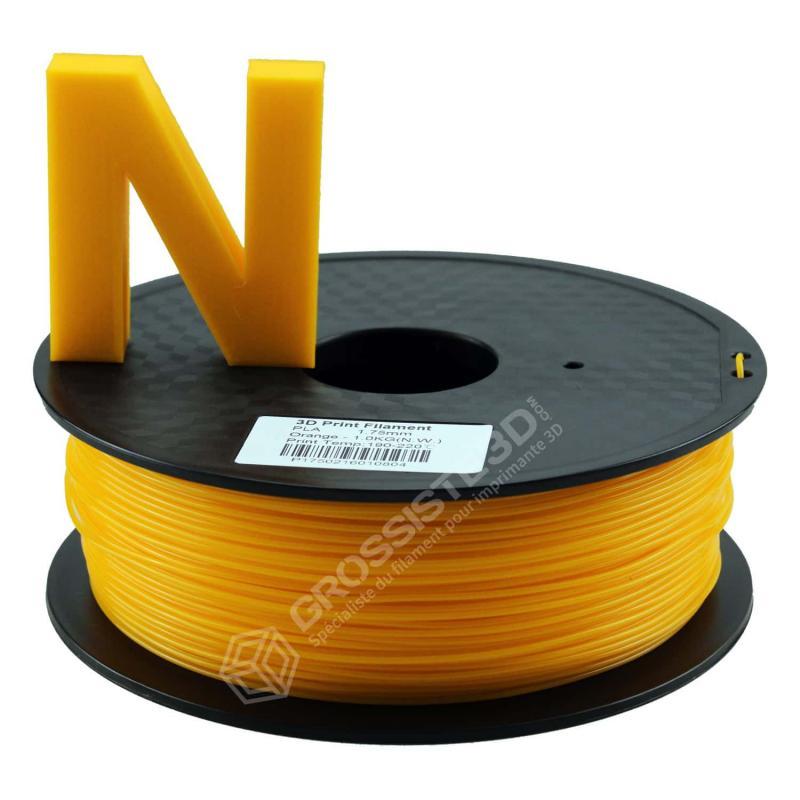 Fil 3D PLA 3 Kg 1.75 mm Orange