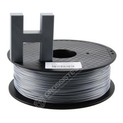 Fil 3D PLA 3 Kg 1.75 mm Argent