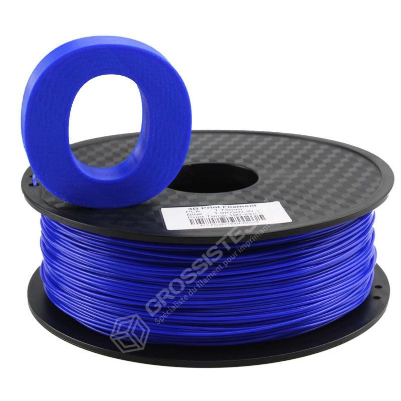 Fil 3D PLA 3 Kg 1.75 mm Bleu