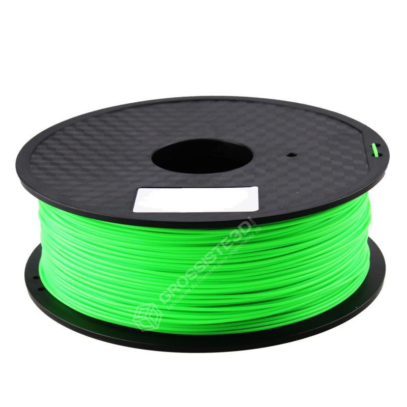FIL 3D PLA Flexible soft 1 KG 1.75 mm Vert Clair