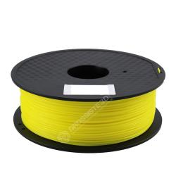 FIL 3D PLA Flexible soft 1 KG 1.75 mm Jaune