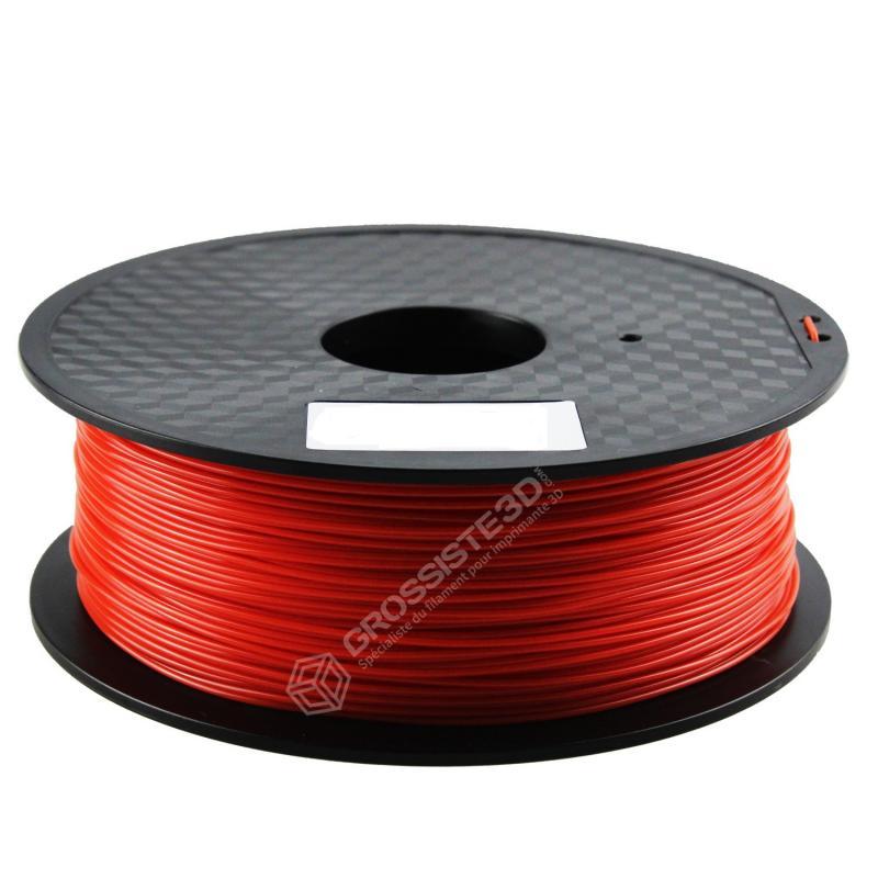 FIL 3D PLA Flexible soft 500G 1.75 mm Rouge