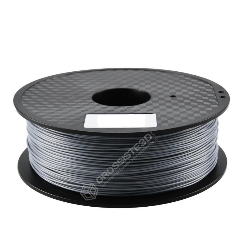 FIL 3D PLA Flexible soft 500G 1.75 mm Argent