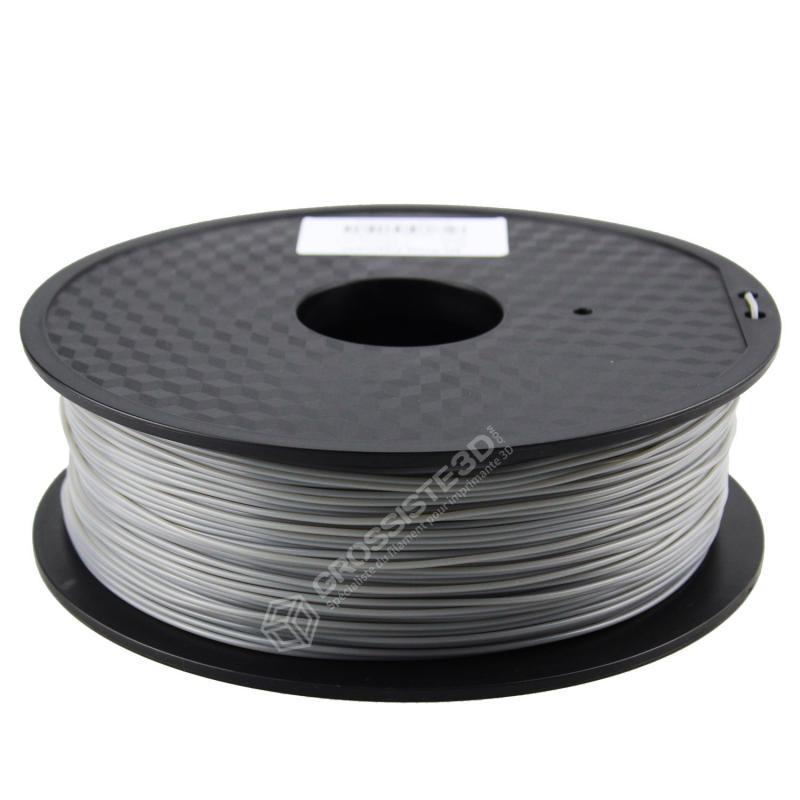 FIL 3D PLA Flexible soft 1 KG 1.75 mm Gris