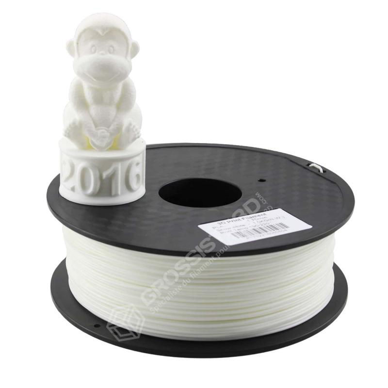 Fil 3D 1 Kg ABS 3.00 mm Blanc neige
