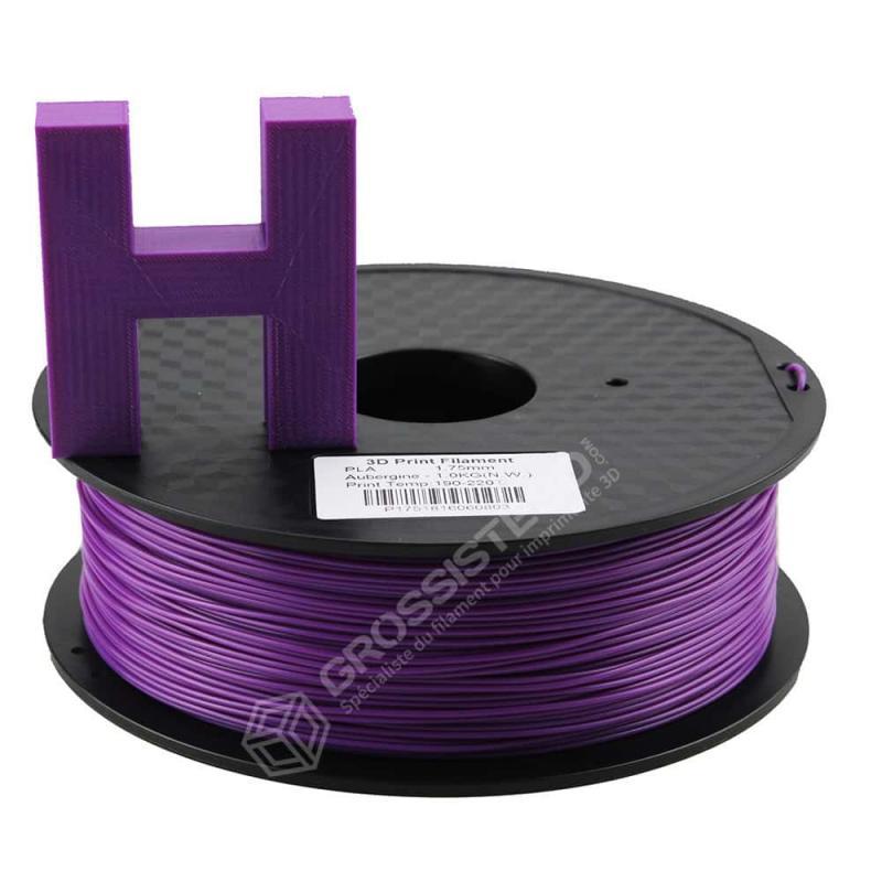 Fil 3D 1 Kg PLA 3.00 mm Aubergine