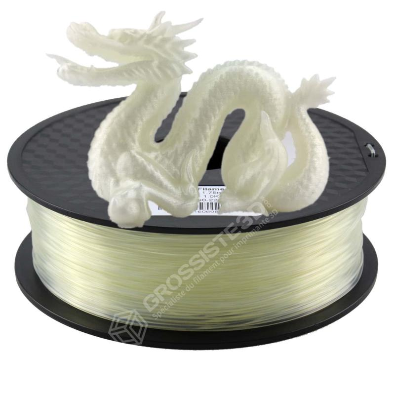 Fil 3D 1 Kg PLA 3.00 mm Transparent